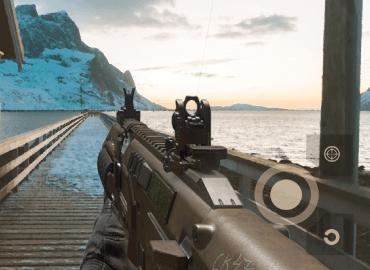 FPS gun camera game