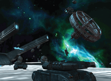 Online multiplayer tank battle