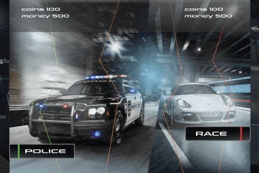 Police pursuit simulator